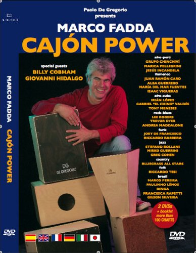 Cajon Power: Marco Fadda [USA] [DVD]