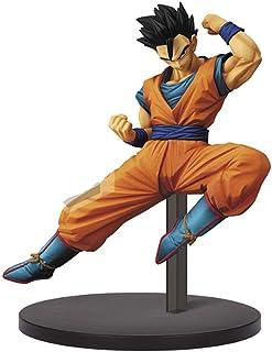 CJH Adornos for el cabello negro Gohan Juvenil Figura Dragon Ball Super Modelo hecho a mano de dibujos animados populares de juguete de regalo de Ordenadores de bolas dragón fresco muñeca del estilo d