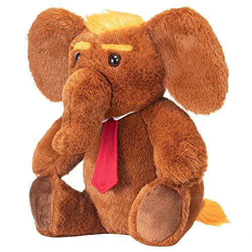 Donald Trump Stuffed 12' Inch Elephant Plush Doll...