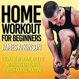 Home Workout for Beginners audiobook cover art