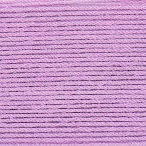 Rico Baby Cotton Soft dk Fb. 047 Altrosa, weiche Babywolle, Baumwollmischgarn zum Stricken & Häkeln