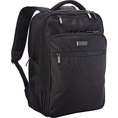"Kenneth Cole Reaction Brooklyn Commuter Backpack Slim 16"" Laptop & Tablet Anti-Theft RFID Business, School, & Travel Book Bag"
