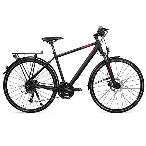 RALEIGH Herren RUSHHOUR LTD Fahrrad, magicblack matt, 45