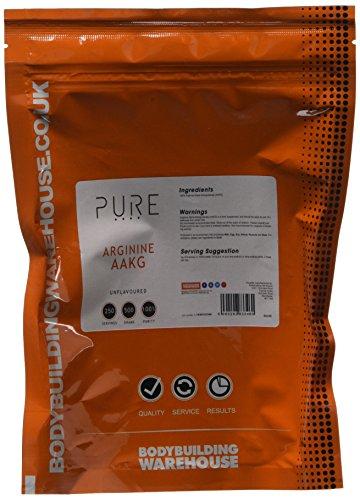 Bodybuilding Warehouse Pure Arginine Alpha Ketoglutarate (AAKG) Unflavoured 500 g