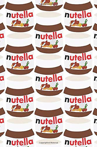 Nutella: Notebook, Journal for Writing, Size 6