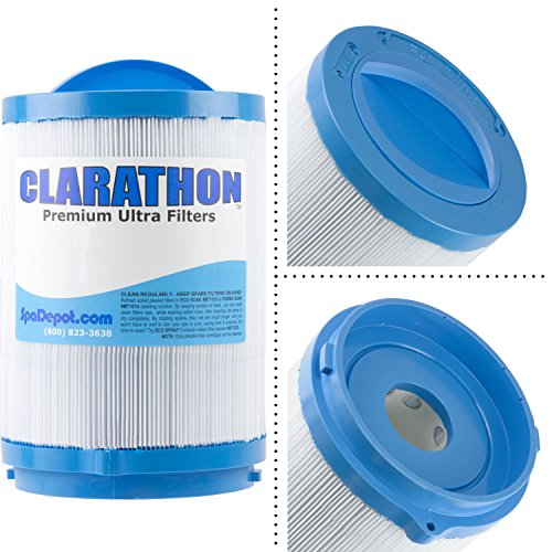 Clarathon Replacement for Jacuzzi Proclarity 40SF Top Spa Filter 6473-157