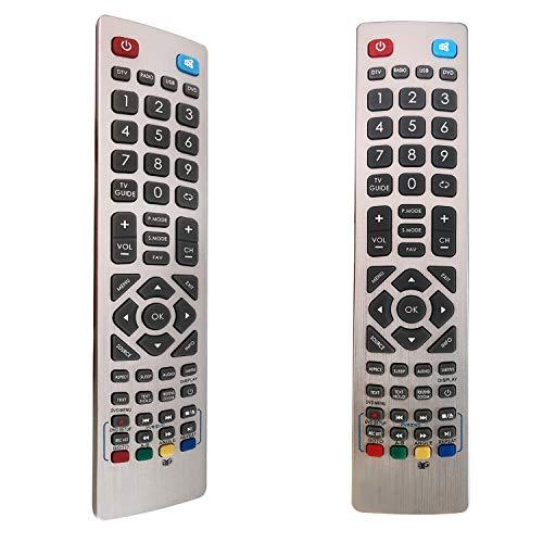 FOXRMT Ersatz Fernbedienung SHWRMC0105 für Sharp SHW-RMC-0105 für Sharp Aquos Fernbedienung LCD LED 3D HD Smart TV