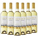 Bach Viña Extrísima - Vino Blanco Semidulce - 6 x 75cl