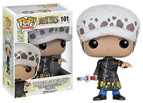 Funko- One Piece: Trafalgar D. Water Law Figurina de Vinilo, Multicolor (6359)