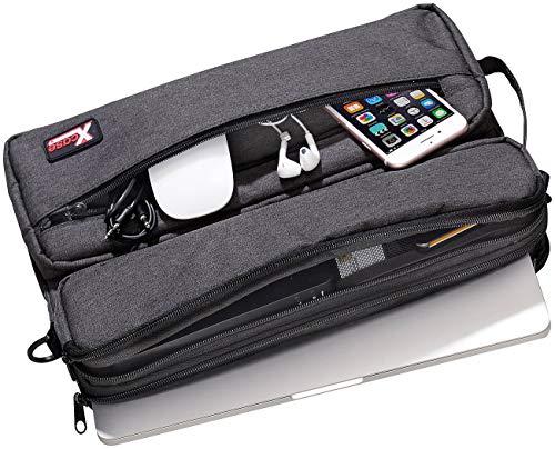 Xcase Umhängetasche: Schulter-Tasche mit gepolstertem Fach für Notebook bis 13