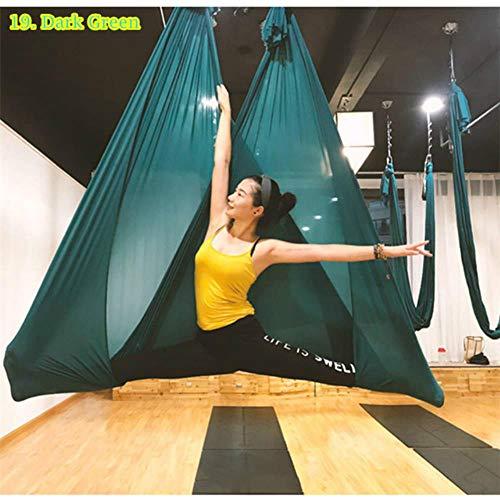 VLOU - Hamaca de yoga antigravedad para yoga (6 x 2,8 m)