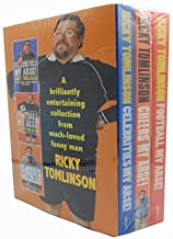 Ricky Tomlinson - Funny Man -3 Books Collection Set Pack (Football My Arse, Cheers My Arse, Celebrities My Arse!)
