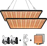GREENSINDOOR 300W LED Pflanzenlampe, LED Pflanzenlampe...