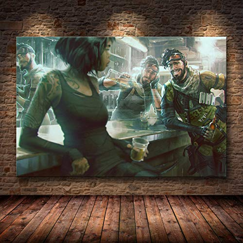 mmzki The Game Poster Decoration Painting of on HD Canvas Canvas Painting Art Posters and Prints