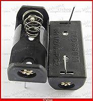 FENGYI KEJI 10pcs x 1/2 AA 1/2AA 14250 Battery Storage Box Case Holder 3.6V PCB Pin Solder Lead