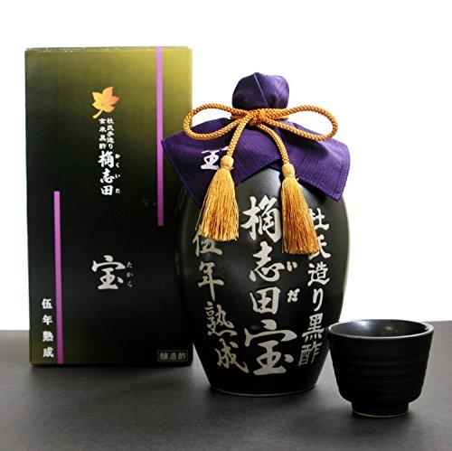 福山黒酢 桷志田 宝 伍年熟成 1000ml