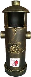 Bacs à Ordures Extérieurs Poubelles extérieures Forme de bouche d'incendie American Iron Poubelles extérieures Mode Maison...