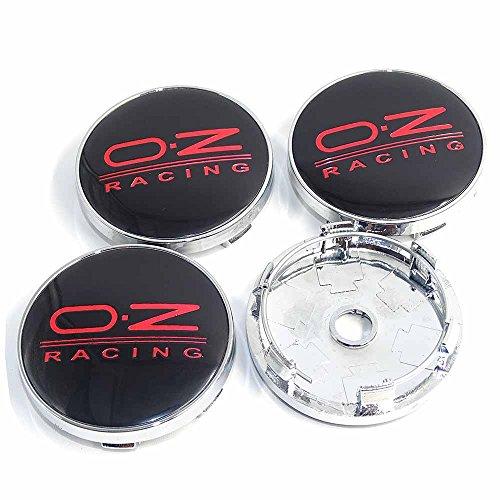 4PCS 2.36INCH Car Styling Accessories Emblem Badge Sticker Wheel Hub Caps Centre Cover OZ RACING