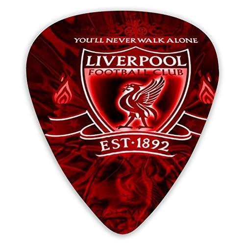 Liverpool - Juego de 12 púas para guitarra eléctrica acústica