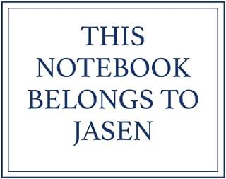This Notebook Belongs to Jasen