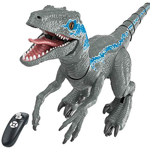 Remote Control Toy Dinosaur Remote Control Animal Intelligent Robot Dinosaur Park Electric Car Walking Animal Control Boy Toy Gift