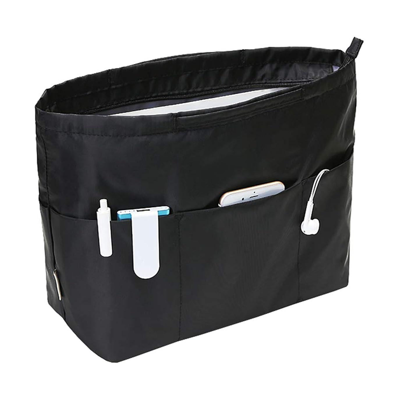 帝国主義枯渇スタンドAPSOONSELL 大容量 バッグインバッグ 13ポケット トートバック用 バックインバック 大きめ レディース メンズ 収納バッグ 出勤 インナーバッグ A4 整理 仕切り
