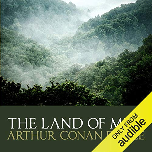 The Land of Mist audiobook cover art