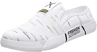 Lailailaily Men Shoe Fashion Breathable Canvas Outdoor Casual Shoes Lazy Men Shoes