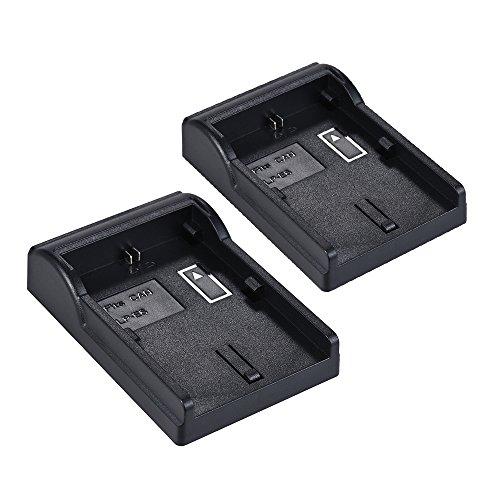 2pcs LP-E6batería placa para Neweer Andoer doble/cuatro canal Cargador de batería para Canon EOS 5DII 5DIII 5DS 5DSR 6d 7DII 60d 80d 70d