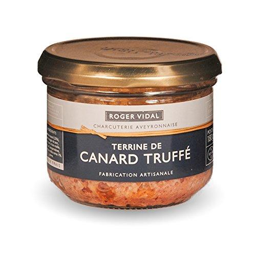 Roger Vidal - Pastete Ente mit Trüffeln (Terrine de Canard Truffé) 180 g