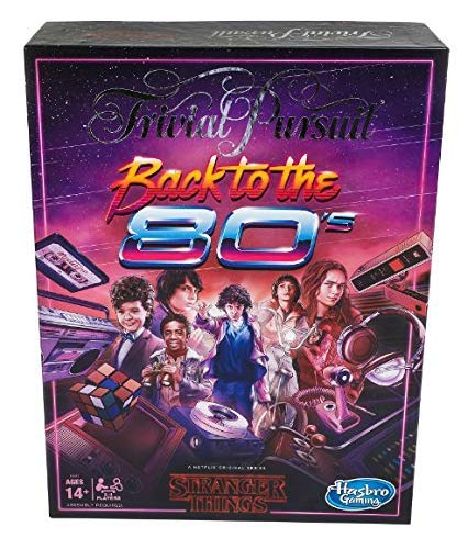 Hasbro Juego Trivial Pursuit Netflix Stranger Things Back to The 80s Edition: Juego de Mesa para Adultos y Adolescentes