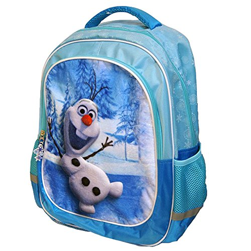 Kids Frozen Olaf Mochila Relieve Terciopelo, Color Azul