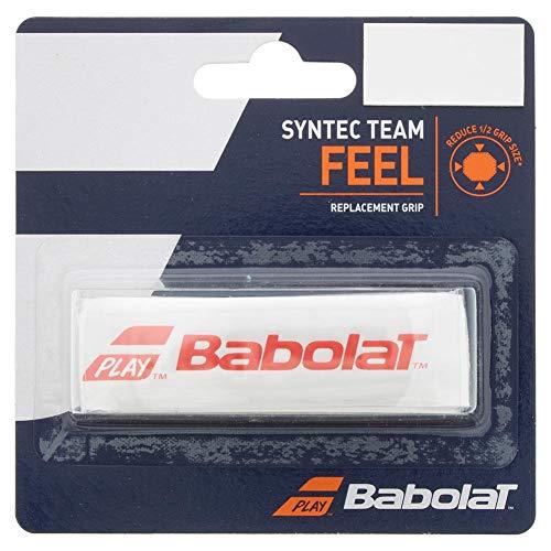 BABOLAT SYNTEC Team X1 Grip, Adultos Unisex, Blanc Rouge (Blanco), Talla Única