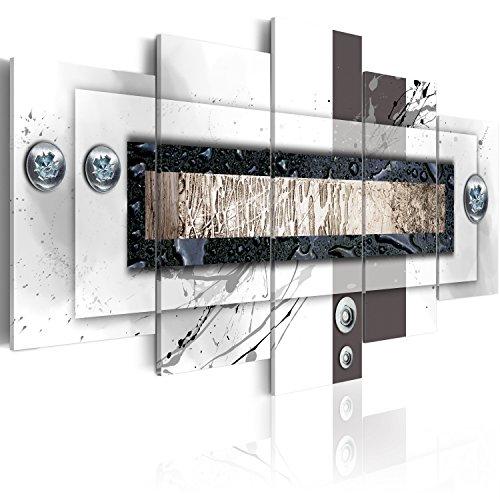 murando - Cuadro en Lienzo Abstracto Moderno 200x100 cm Impresión de 5 Piezas Material Tejido no Tejido Impresión Artística Imagen Gráfica Decoracion de Pared Arte 020101-157