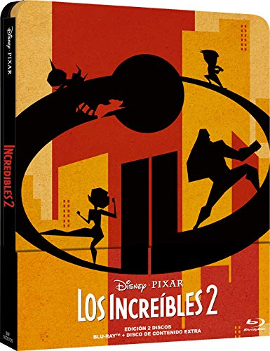 Pixar Increibles 2 Steelbook [Blu-ray]