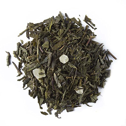 Aromas de Té - Aloe Vera Grüner Tee, Verdauungsfördernd, mit Ananasstücken, zum Schutz der Darmflora, 75 gr