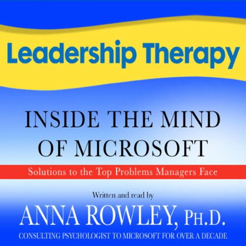Leadership Therapy audiobook cover art