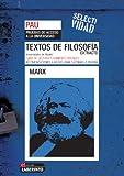Selectividad. Textos de filosofía. Extracto de Marx