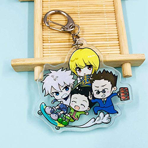 Iwinna Anime Hunter X Hunter Keychain Props Key Ring Toy, Anime Merchandise(Multicolor(style16))