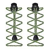 55 Sport, stringhe elastiche con ferma lacci, per scarpe da corsa e triathlon