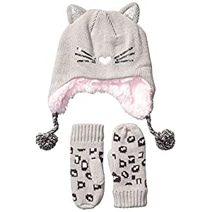 Spotted Zebra Girls' Hat Scarf Mittens Gloves Cold Weather Accessories Sets