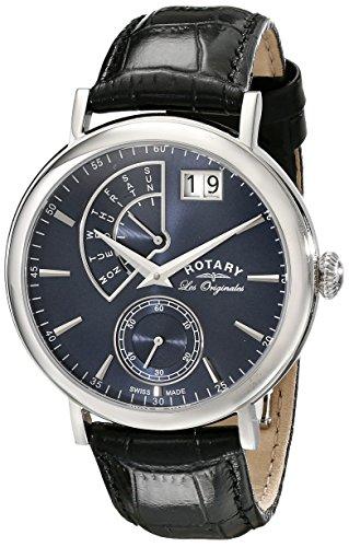 Rotary Herren - Armbanduhr Quartz Complication Analog Quarz GS90085/05