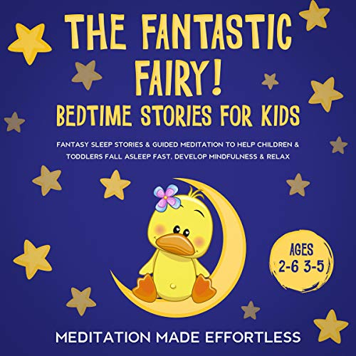 The Fantastic Fairy! Bedtime Stories for Kids cover art