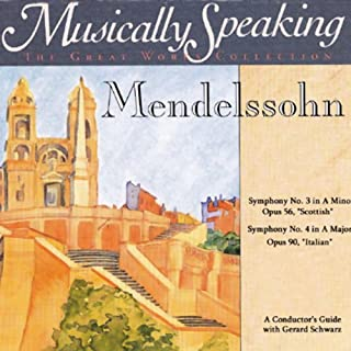 Conductor's Guide to Mendelssohn's Symphony No. 3 & No. 4 cover art