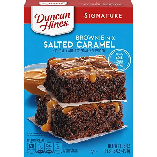 Duncan Hines Signature Salted Caramel Brownie Mix 176 OZ