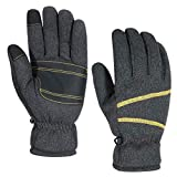 HUPENG Winter Knit Gloves for Men and Women, Touchscreen Gloves, -30 °F Warm Thermal Gloves (3, M)