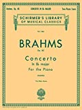 Concerto No. 2 in Bb, Op. 83: Schirmer Library of Classics Volume 1465 Piano Duet (Schirmer's Library of Musical Classics)