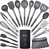 Silicone Cooking Utensils Set - Heat Resistant Kitchen Utensils,Turner...