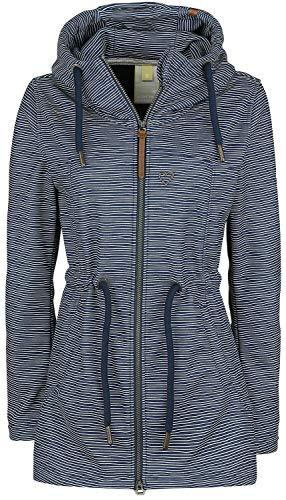 Alife and Kickin Charlotte D Frauen Mantel Marine M 100% Polyester Basics, Casual Wear, Streetwear