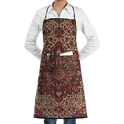 Die babylonische Unisex-Küchenschürze, verstellbar mit Taschen zum Kochen, Backen, Basteln, Gärtnern und Grillen